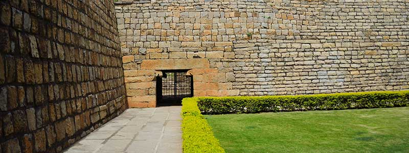 Tipu Sultan Fort near Bengaluru