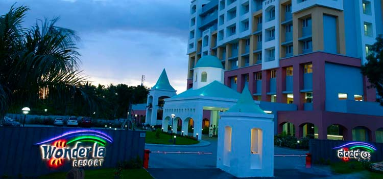 Stay at Wonderla Resort Bangalore