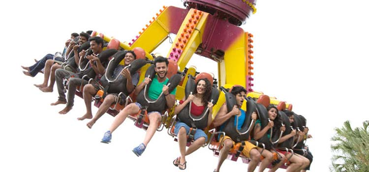 High Thrill Rides at Wonder la Bangalore Water Park